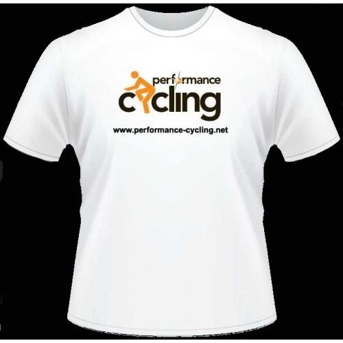 Performance Cycling T-Shirt (White)