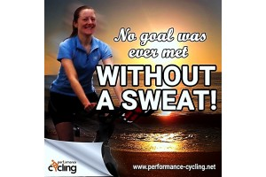 No goal was ever met without a sweat