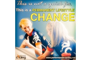 This is not a quick fix This is a PERMANENT LIFESTYLE CHANGE