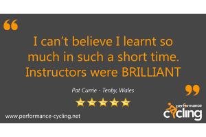 Performance Cycling Instructor Course Review - Pat Currie - Tenby
