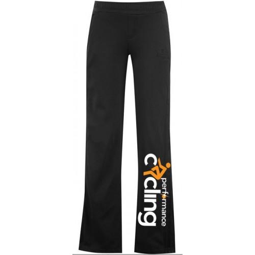 Ladies black PC leisure pants