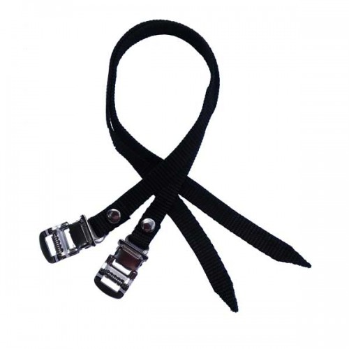 1 pair quality toe/pedal straps - fit all road/mountain/spinning/indoor cycling bikes