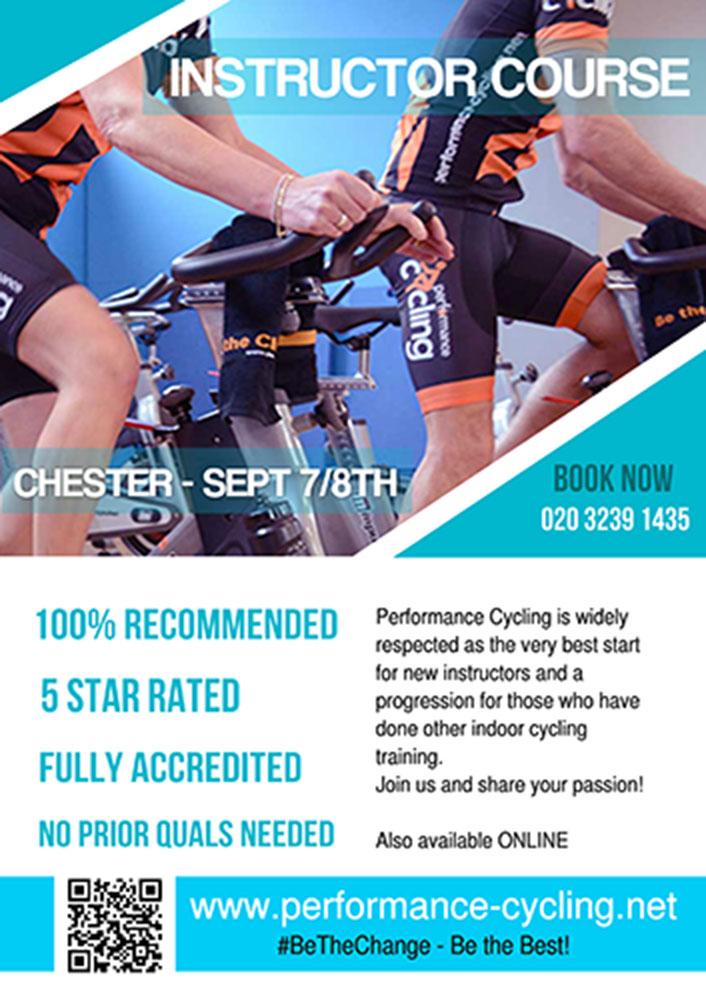 Next live course September - Chester