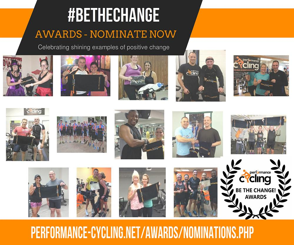 Be The Change Awards - nominate now
