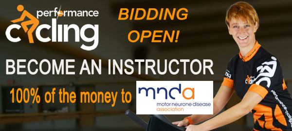 Bid now to become an instructor and raise funds for charity