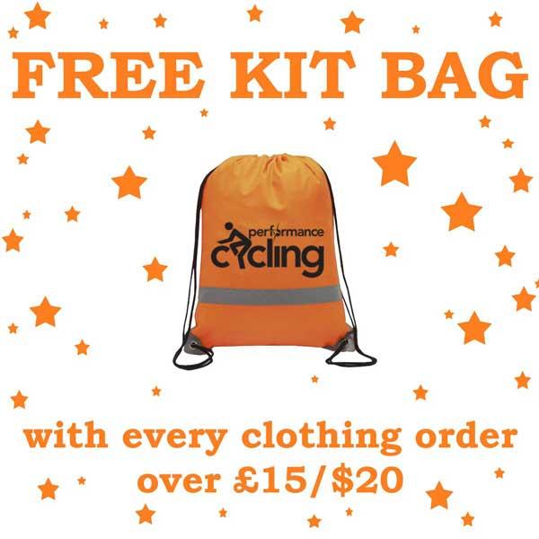 Free kit bag offer